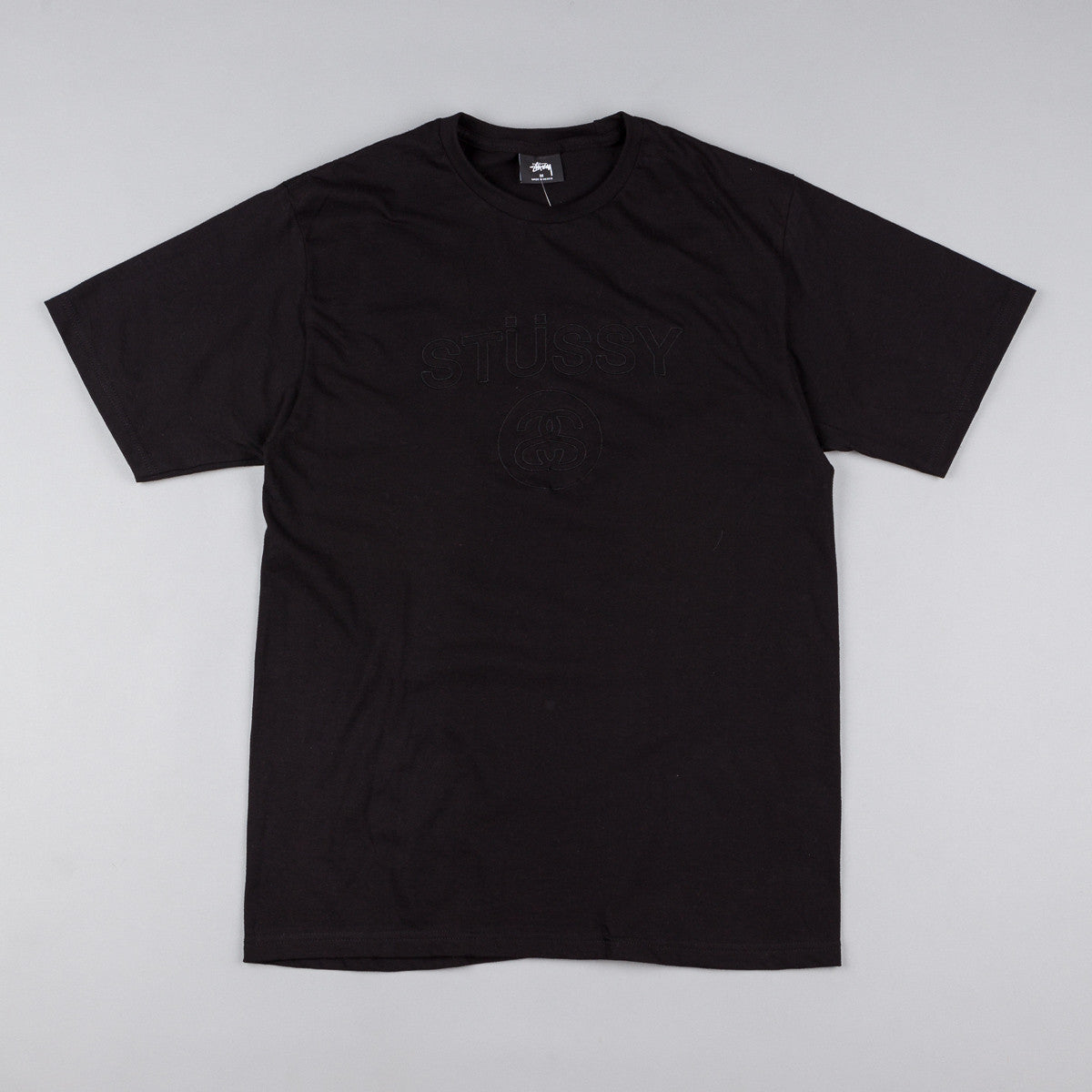Stussy Link Embroidered T-Shirt