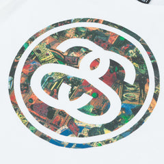 Stussy Link Painting T-Shirt White