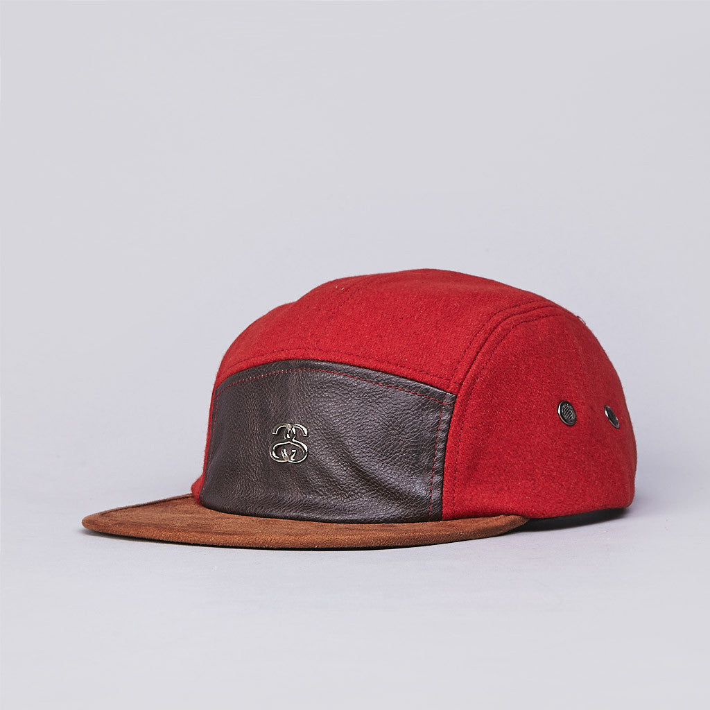 Stussy Lux Camp Cap Burnt Orange
