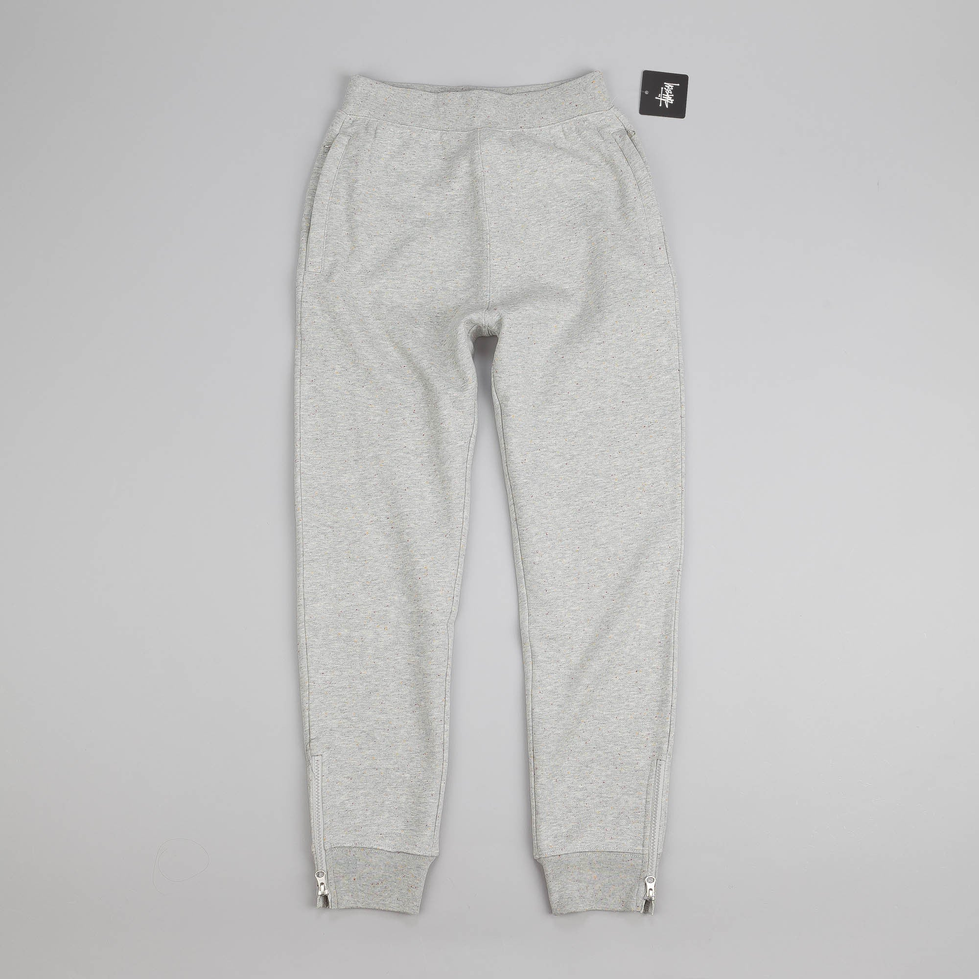 Stussy Lux Fleece Sweatpant Grey Heather