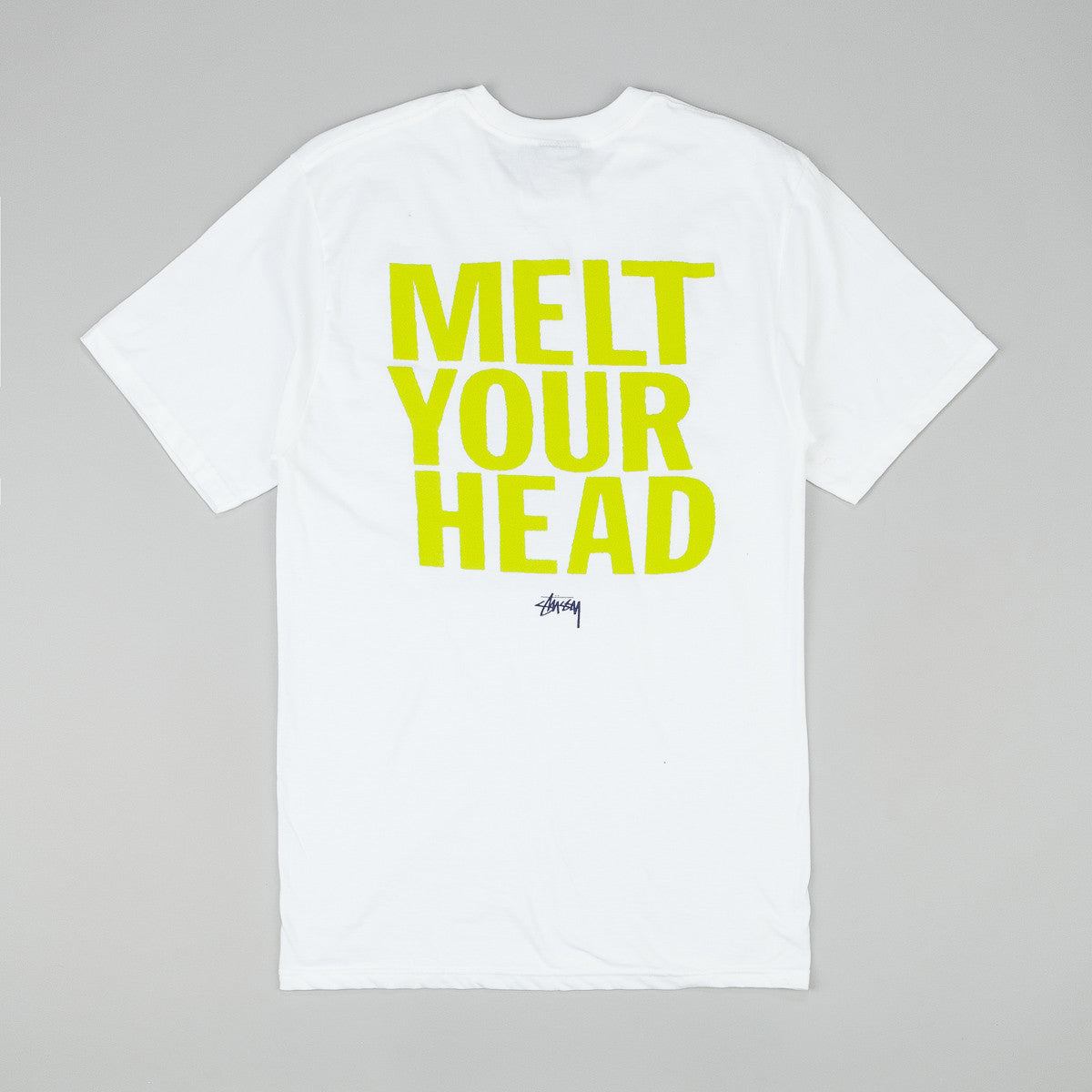 Stussy Melt Your Head T-Shirt - White