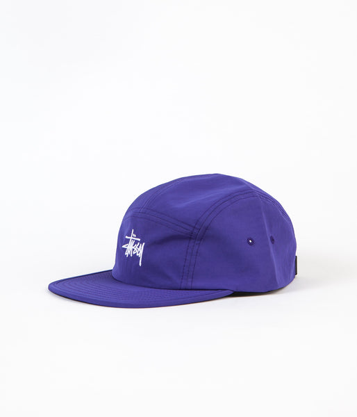 Stussy Micro Ripstop Camp Cap - Purple