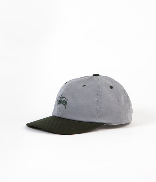 Stussy Mini Houndstooth Cap - Green