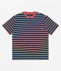 Stussy Mini Stripe T-Shirt - Red