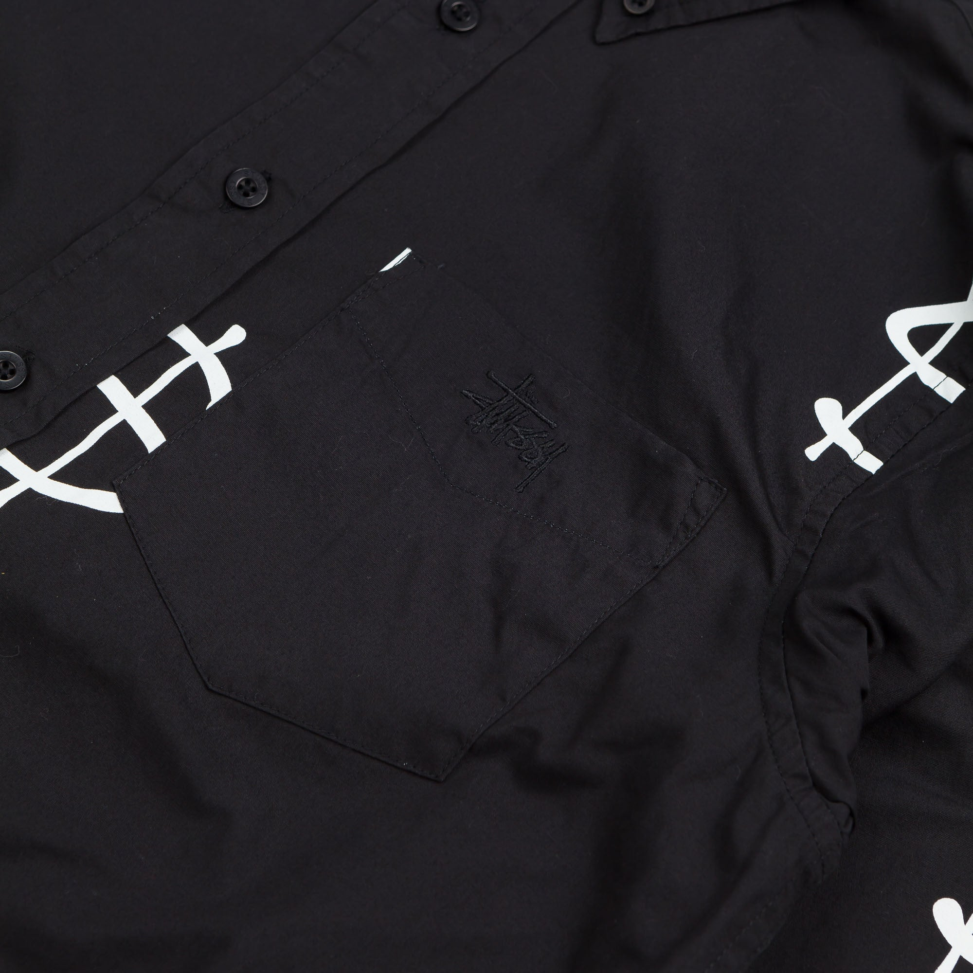 Stussy Money Shirt Black