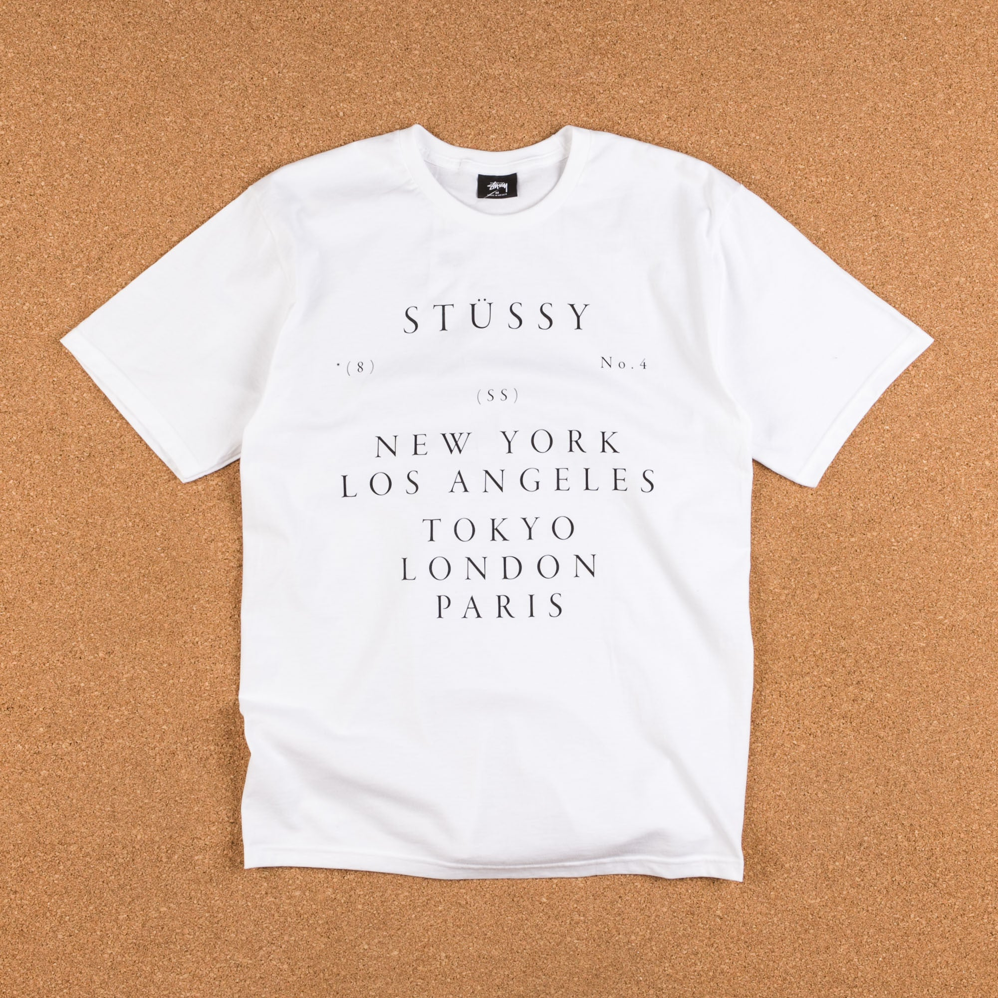 Stussy World Touring T-Shirt - White