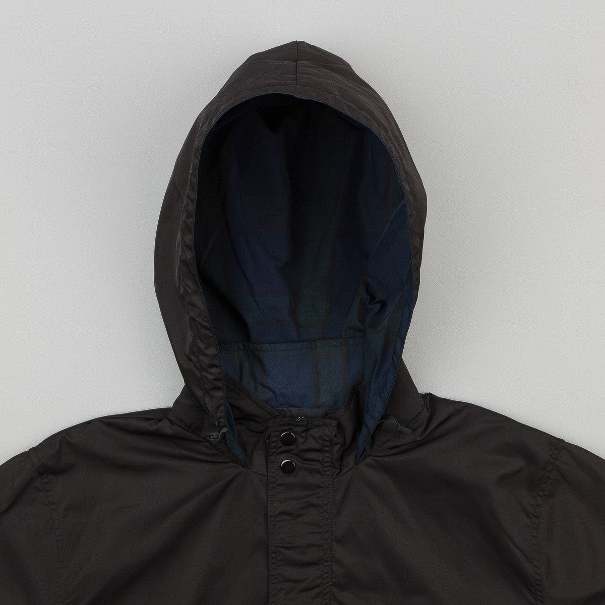 Stussy Nylon Pullover Jacket - Black