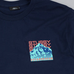 Stussy Outdoor Gear Long Sleeve T-Shirt - Navy