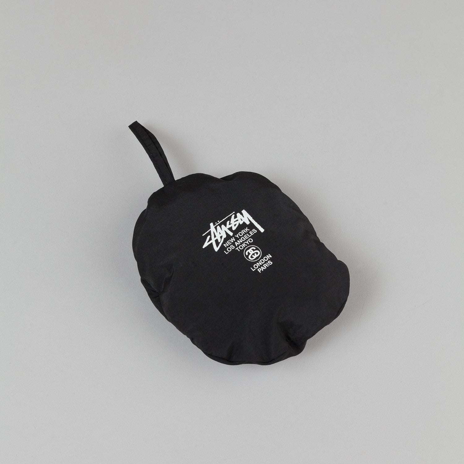 Stussy Packable Bucket Hat - Black