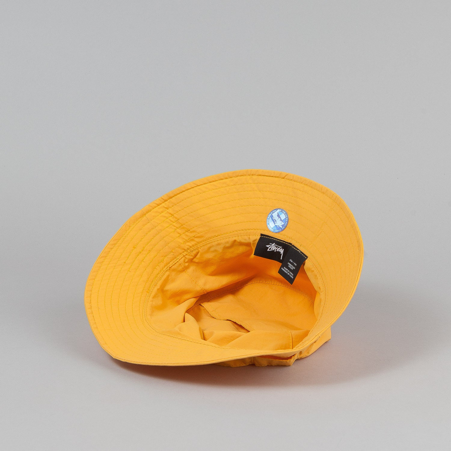 Stussy Packable Bucket Hat - Yellow