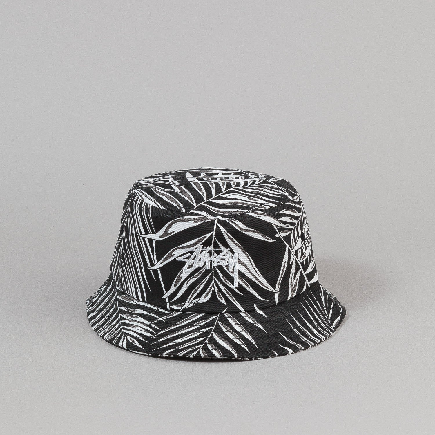 Stussy Palm Bucket Hat - Black