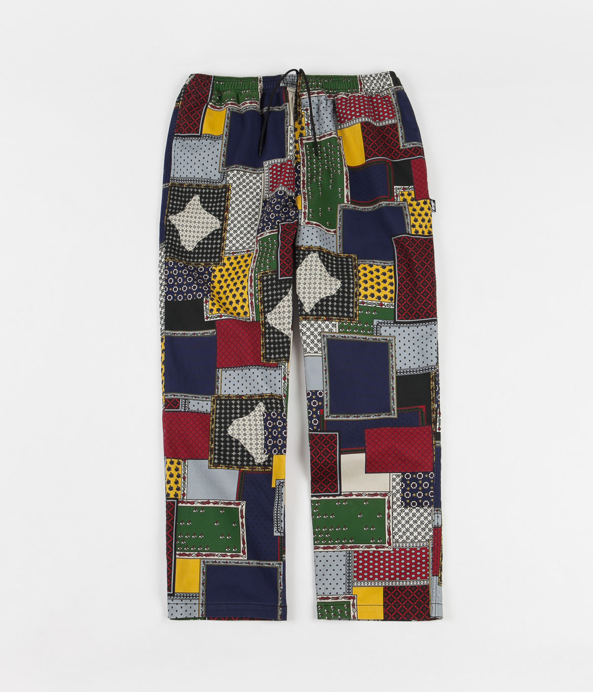 Stussy Patchwork Cord Beach Pants - Multi