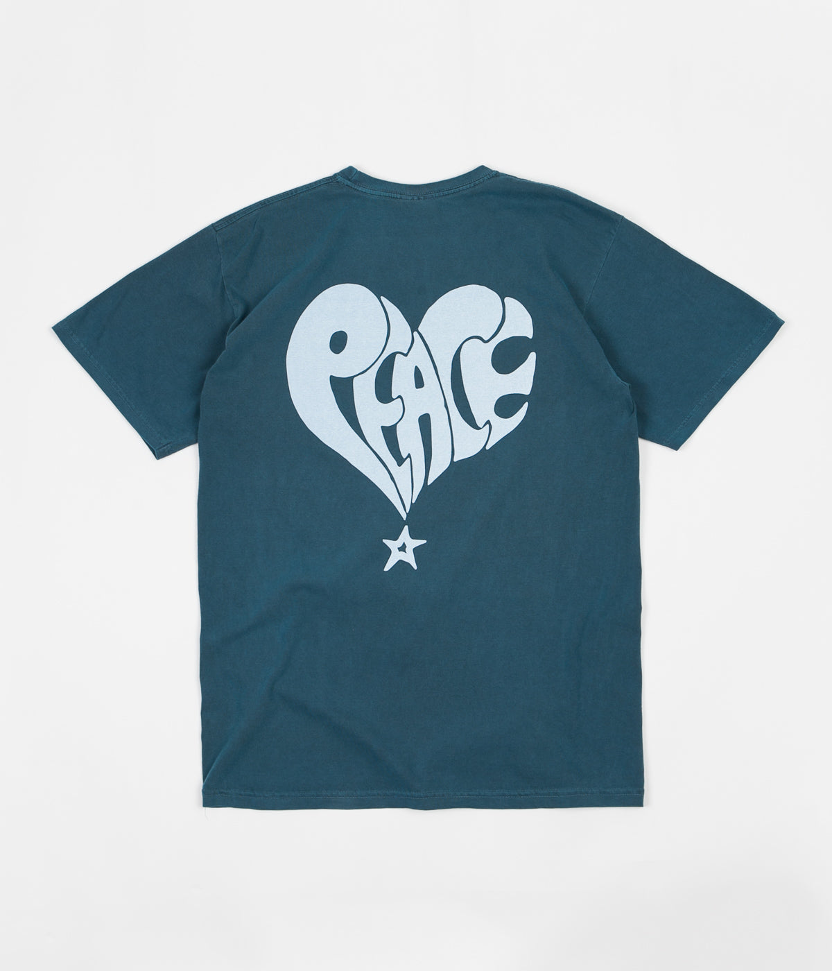 Stussy Peace Pigment Dyed T-Shirt - Slate