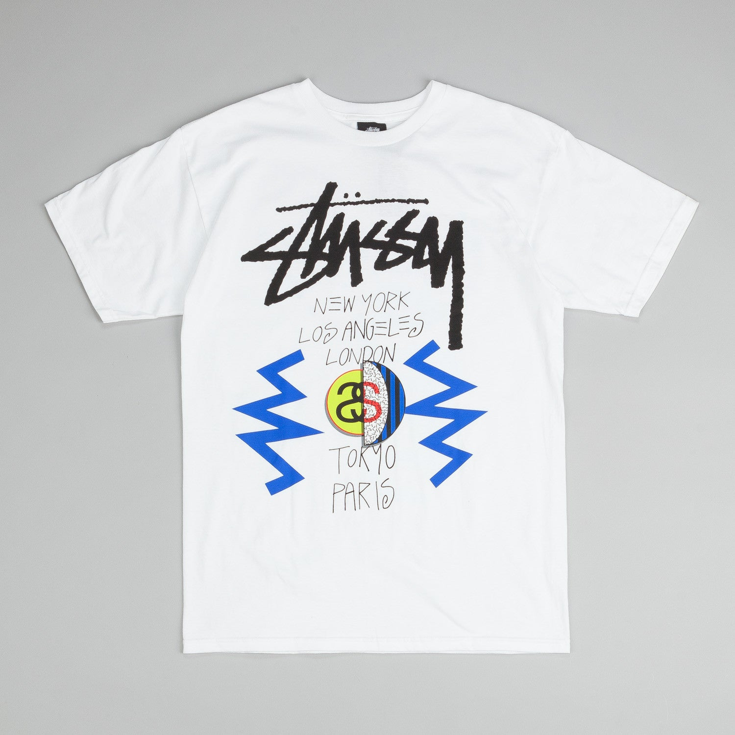 Stussy Playa WT T-Shirt White
