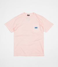 Stussy Red Eyes Pigment Dyed Pocket T-Shirt - Blush