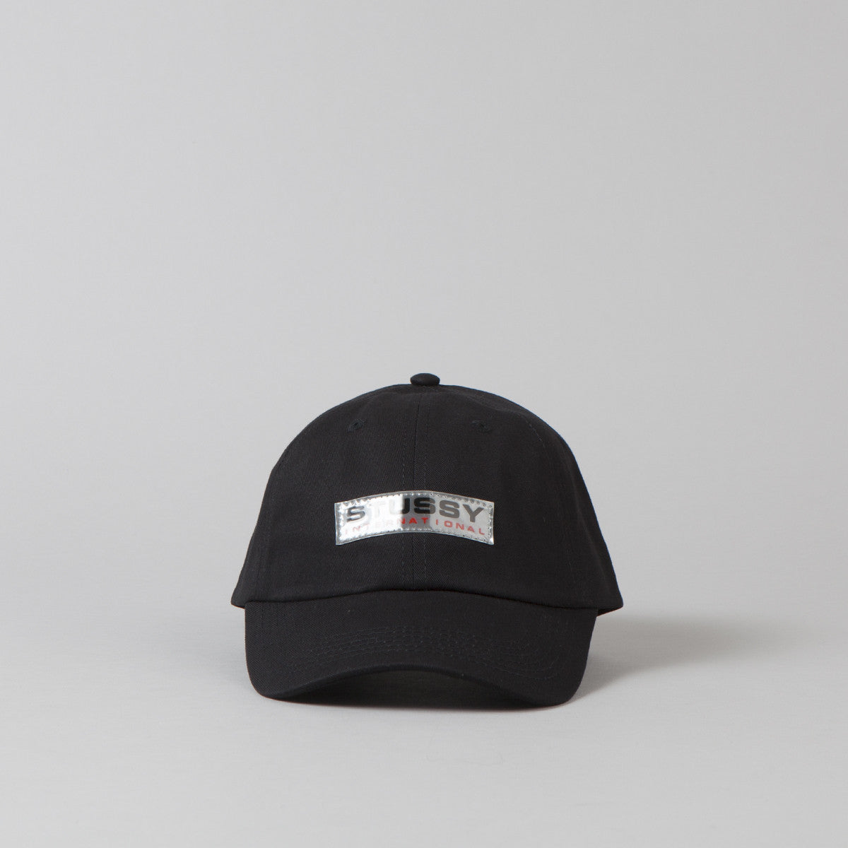 Stussy Clear Patch Cap - Black