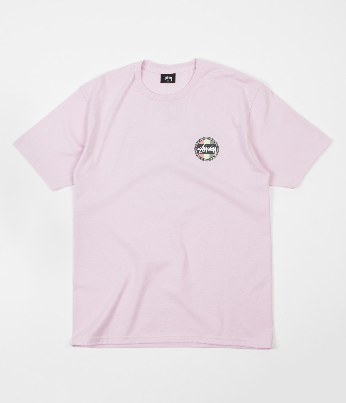 Stussy Reggae Surf Dot T-Shirt - Light Lavender