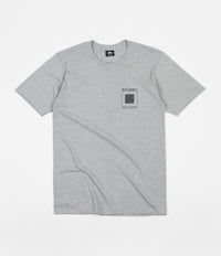 Stussy S Flag T-Shirt - Grey Heather
