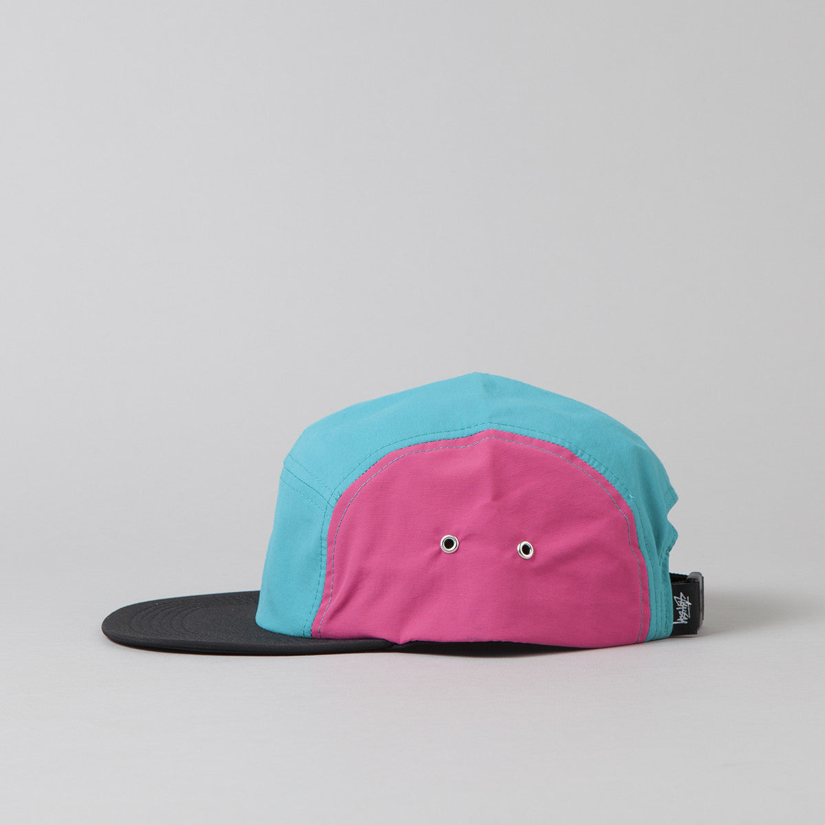 Stussy Side Patch Camp Cap - Teal