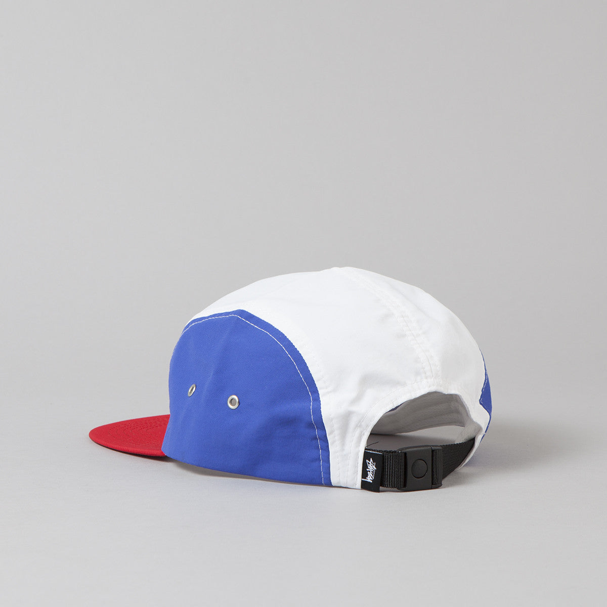 Stussy Side Patch Camp Cap - White