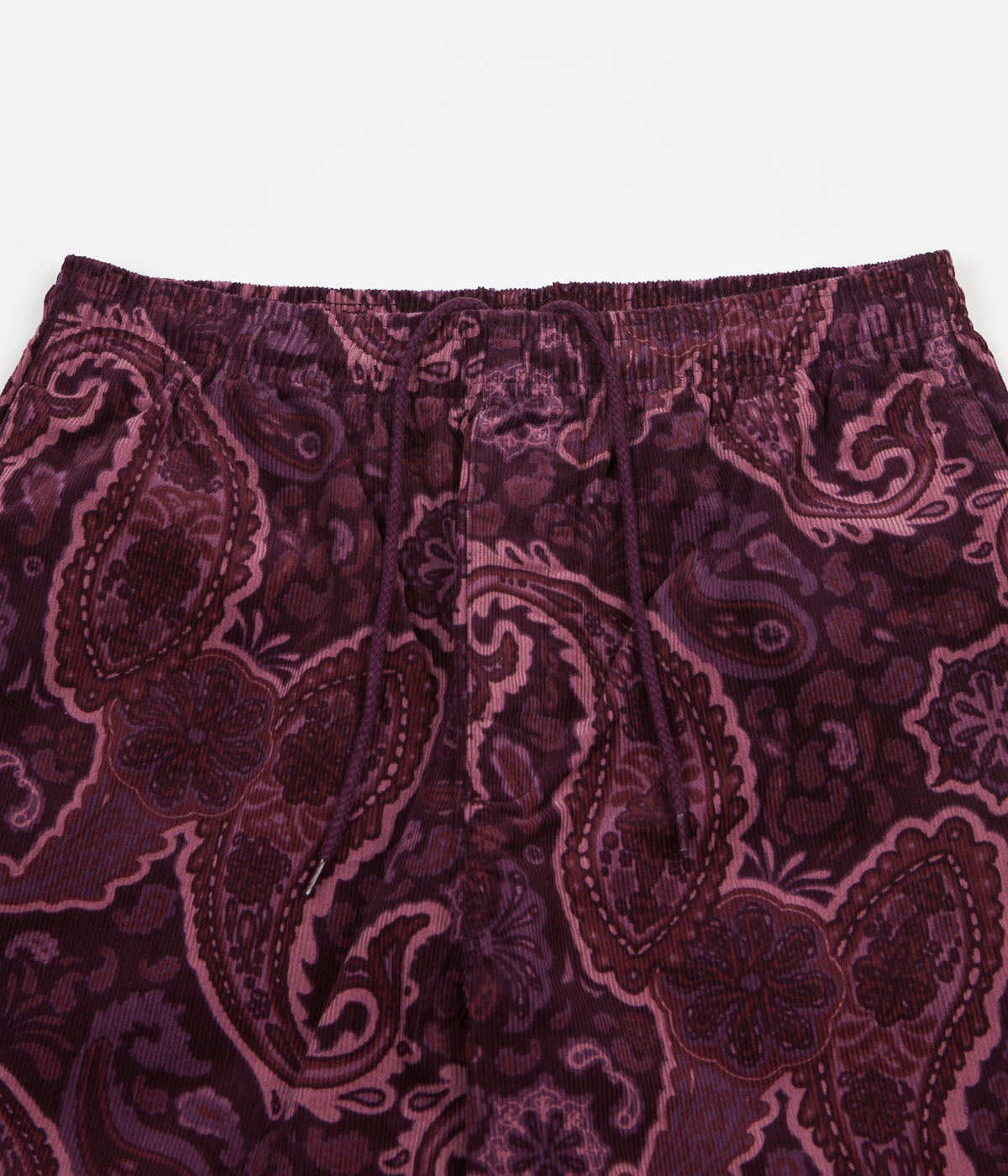 Stussy Side Piping Cord Trousers - Burgundy