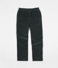 Stussy Side Piping Cord Trousers - Dark Mint
