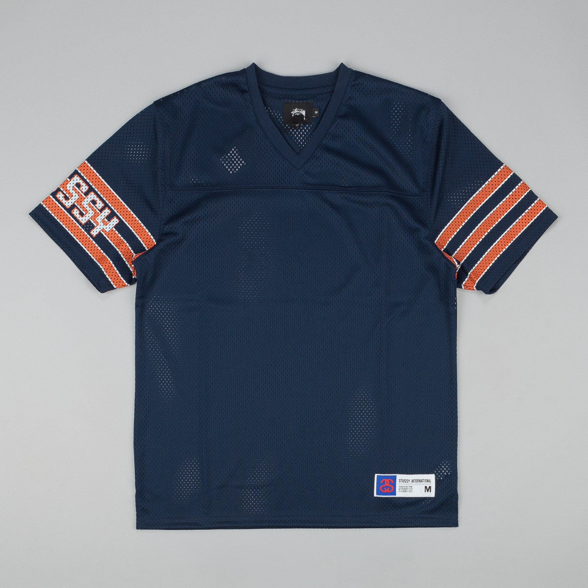 Stussy Sleeve Stripe Football Top