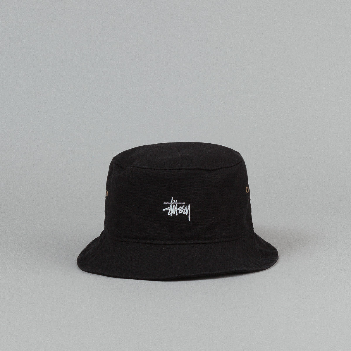 Stussy Smooth Crusher Bucket Hat - Black