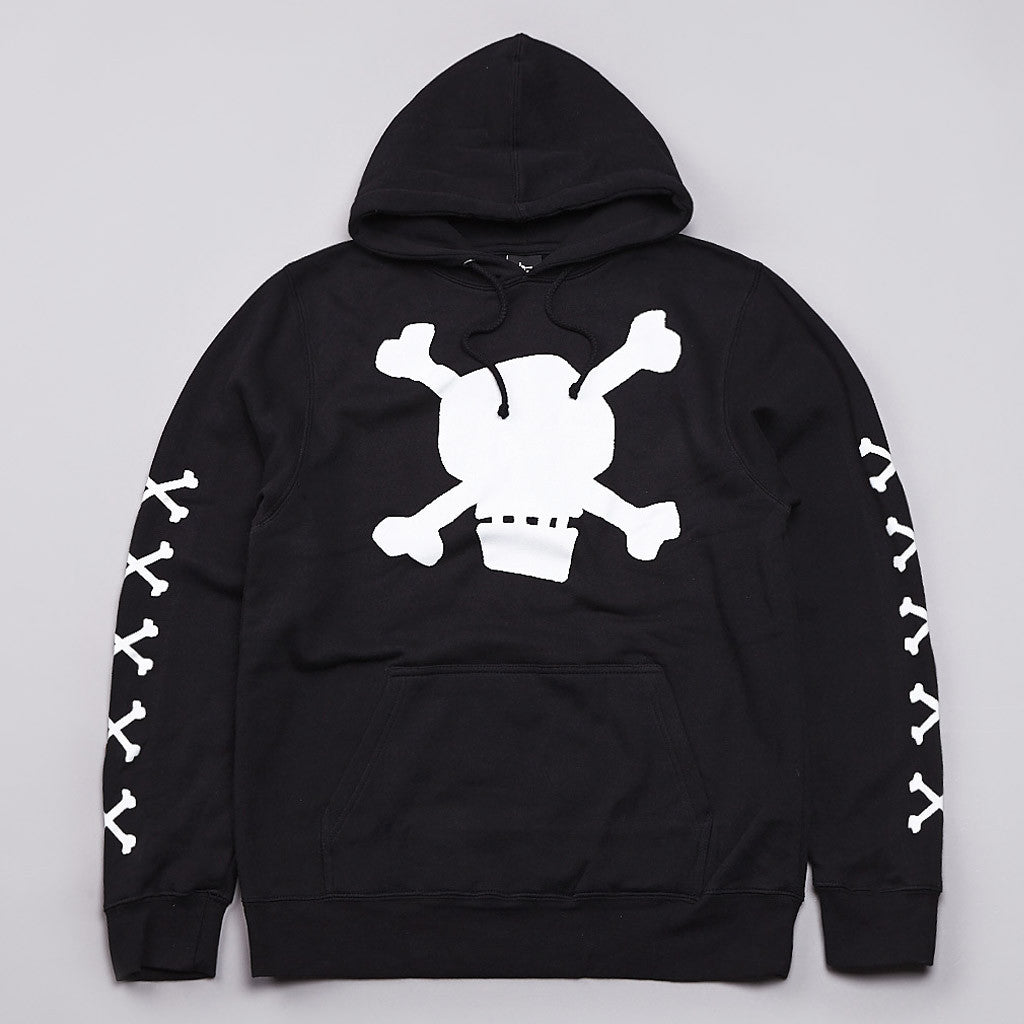Stussy Skull Hooded Sweatshirt Black