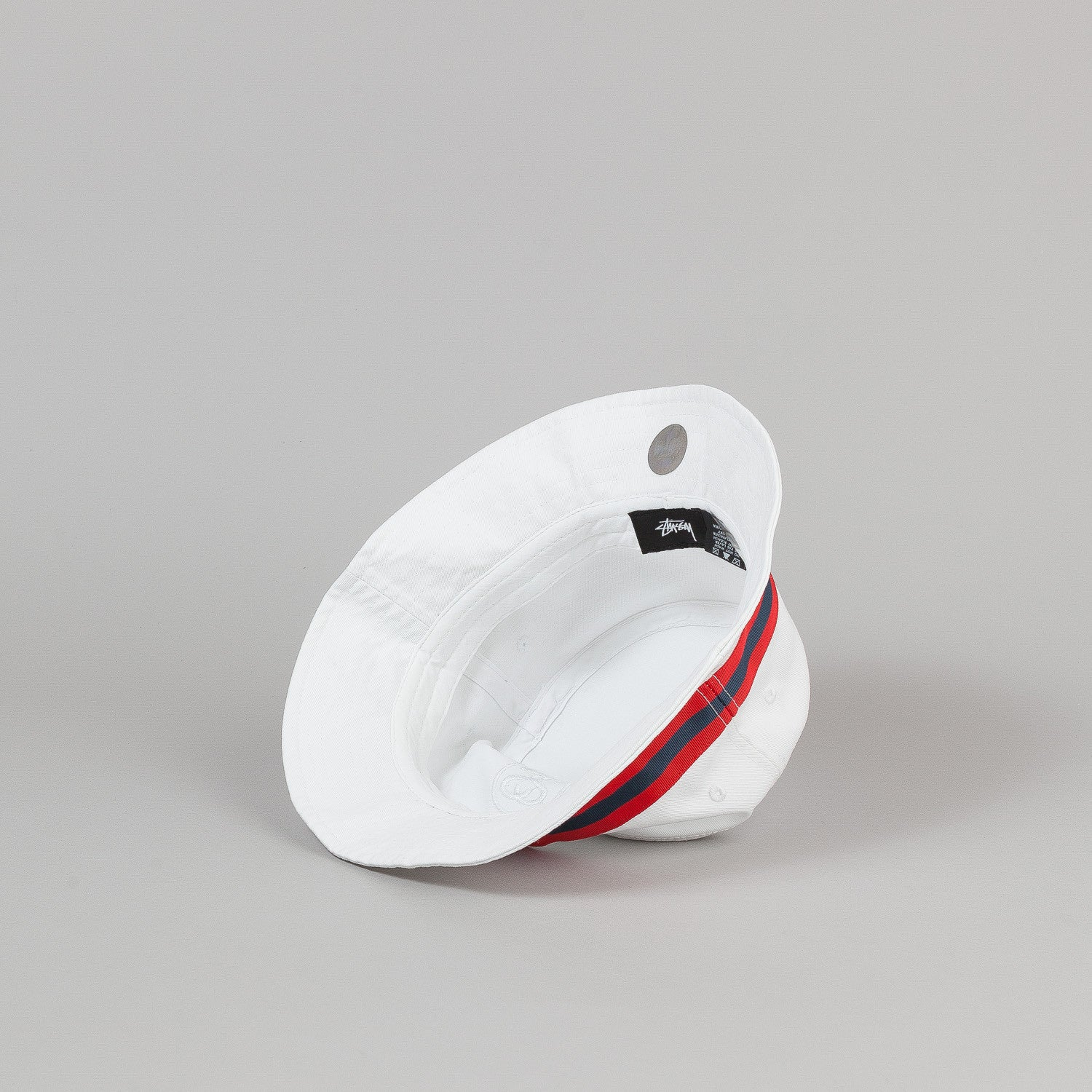 Stussy SS Link Band Bucket Hat - White