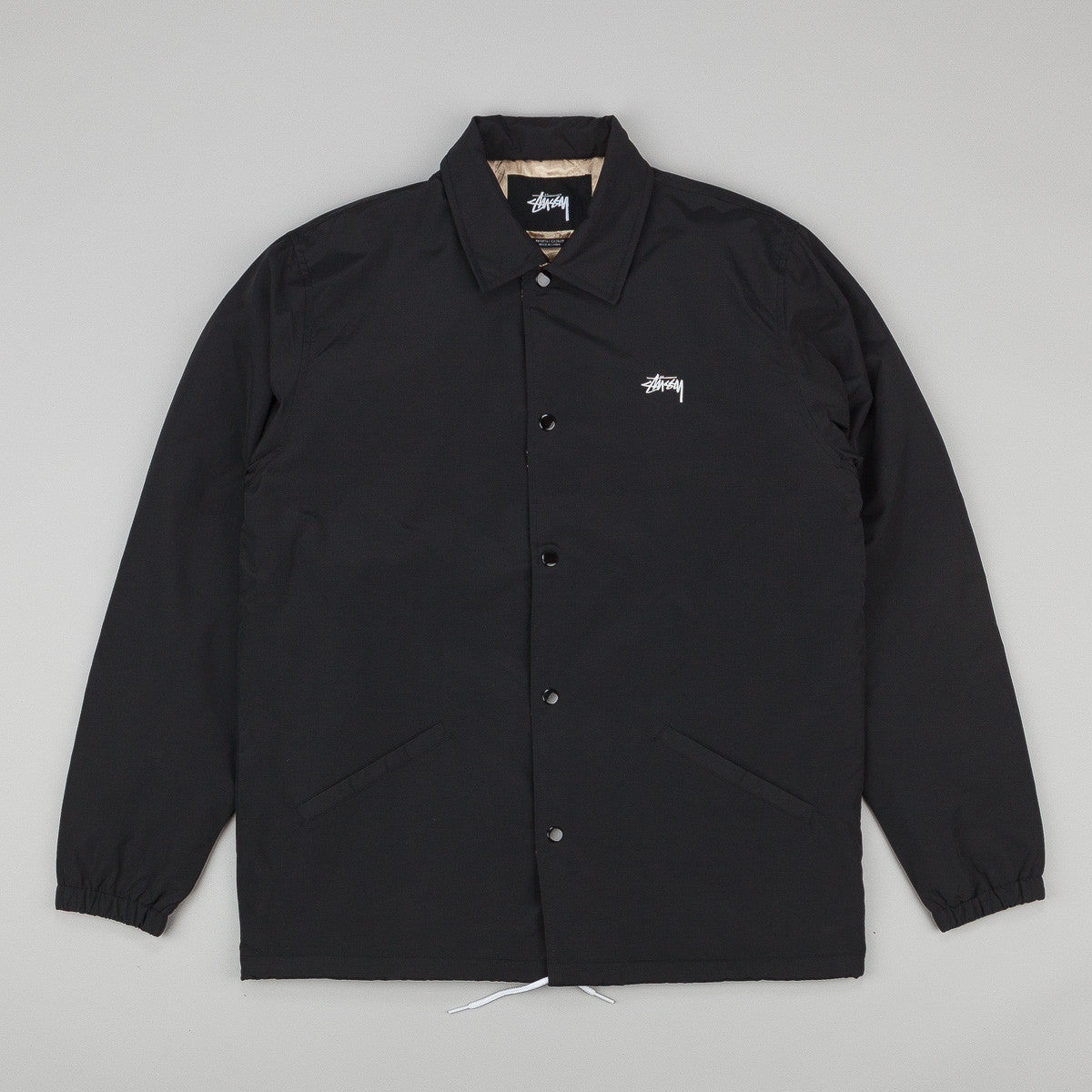 Stussy SS Link Coaches Jacket - Black