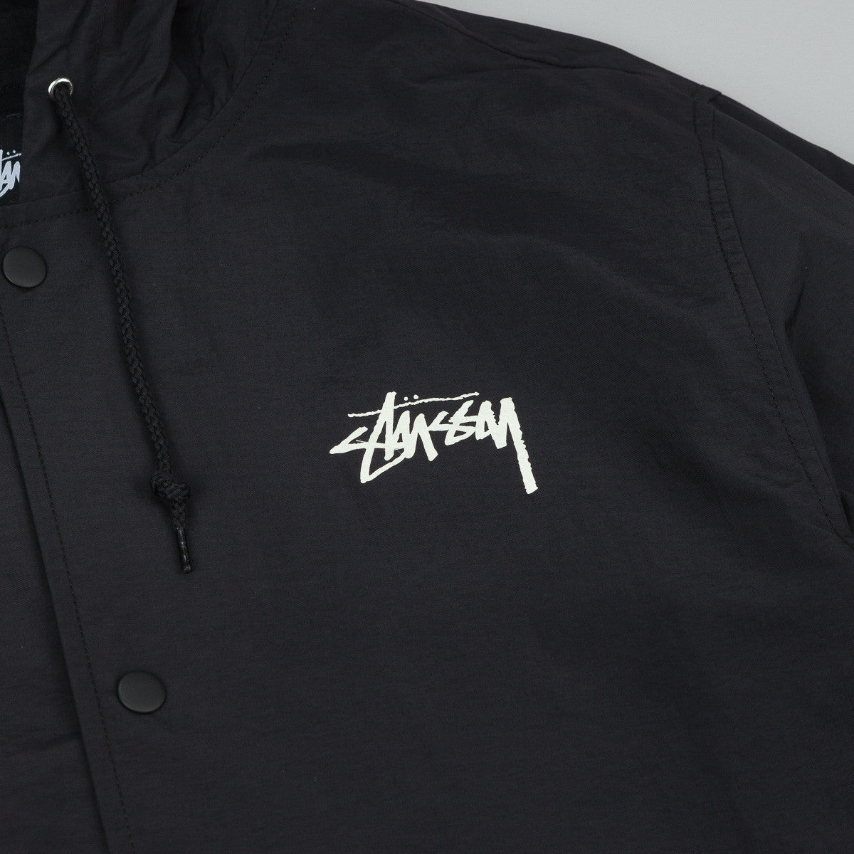 Stussy SS Link Long Stadium Jacket - Black