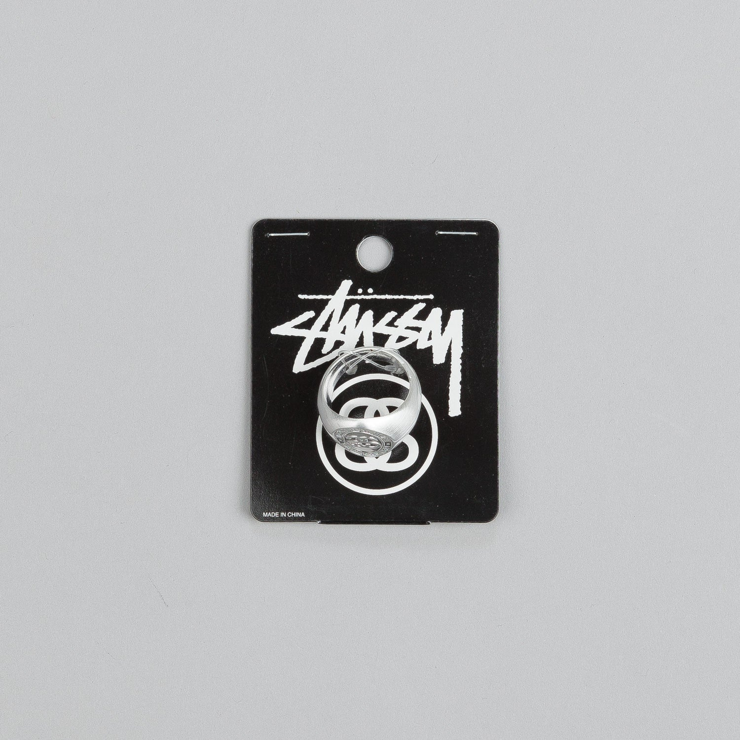Stussy SS Link Ring Silver