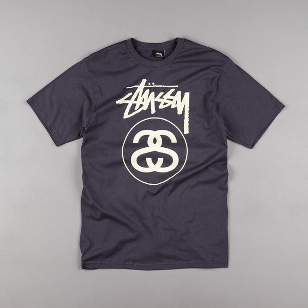 Stussy Stock Link T-Shirt - Midnight
