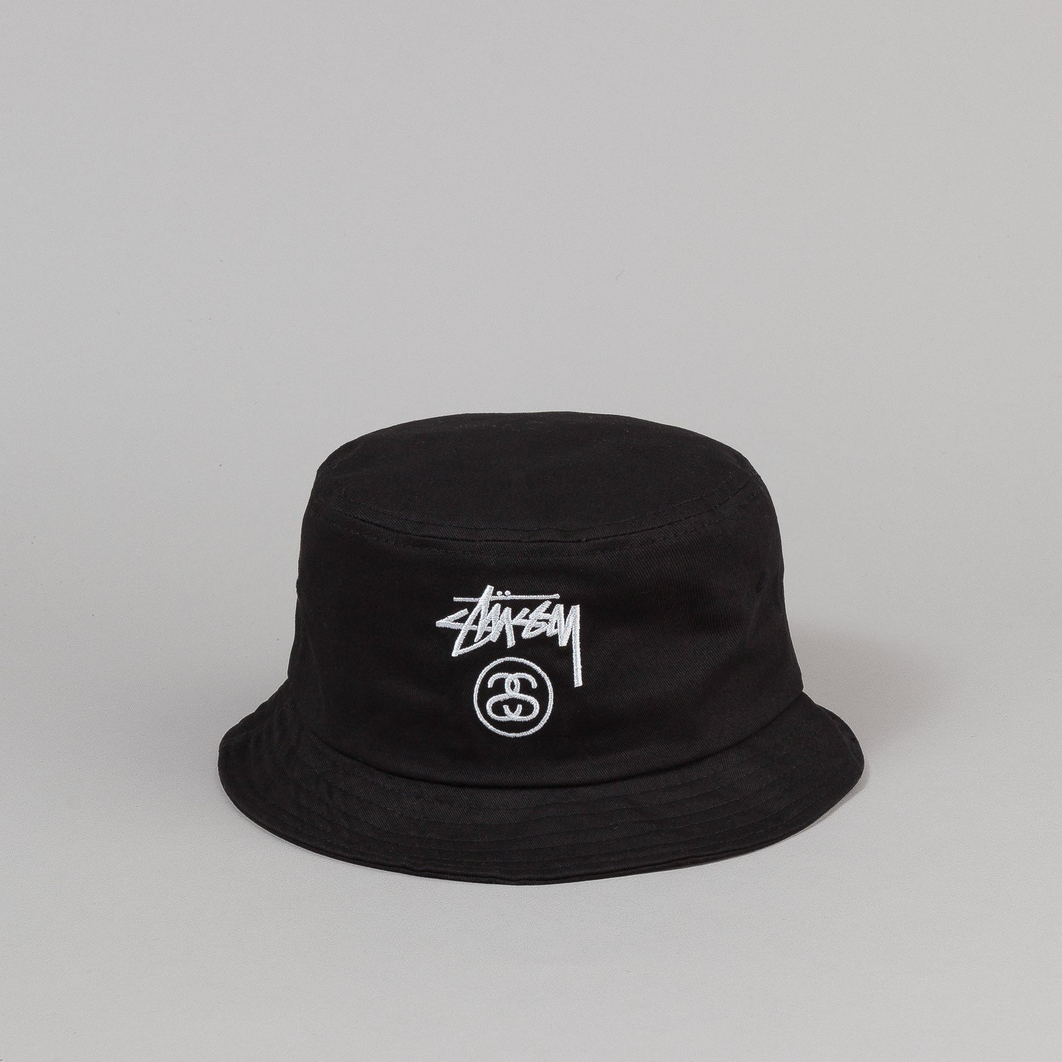 Stussy Stock Lock Bucket Hat Black