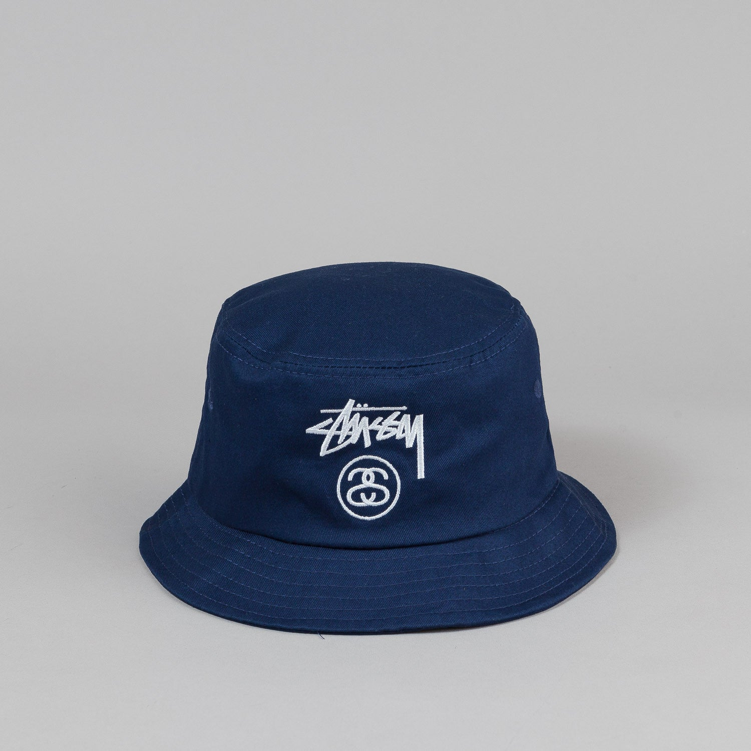 Stussy Stock Lock Bucket Hat - Blue