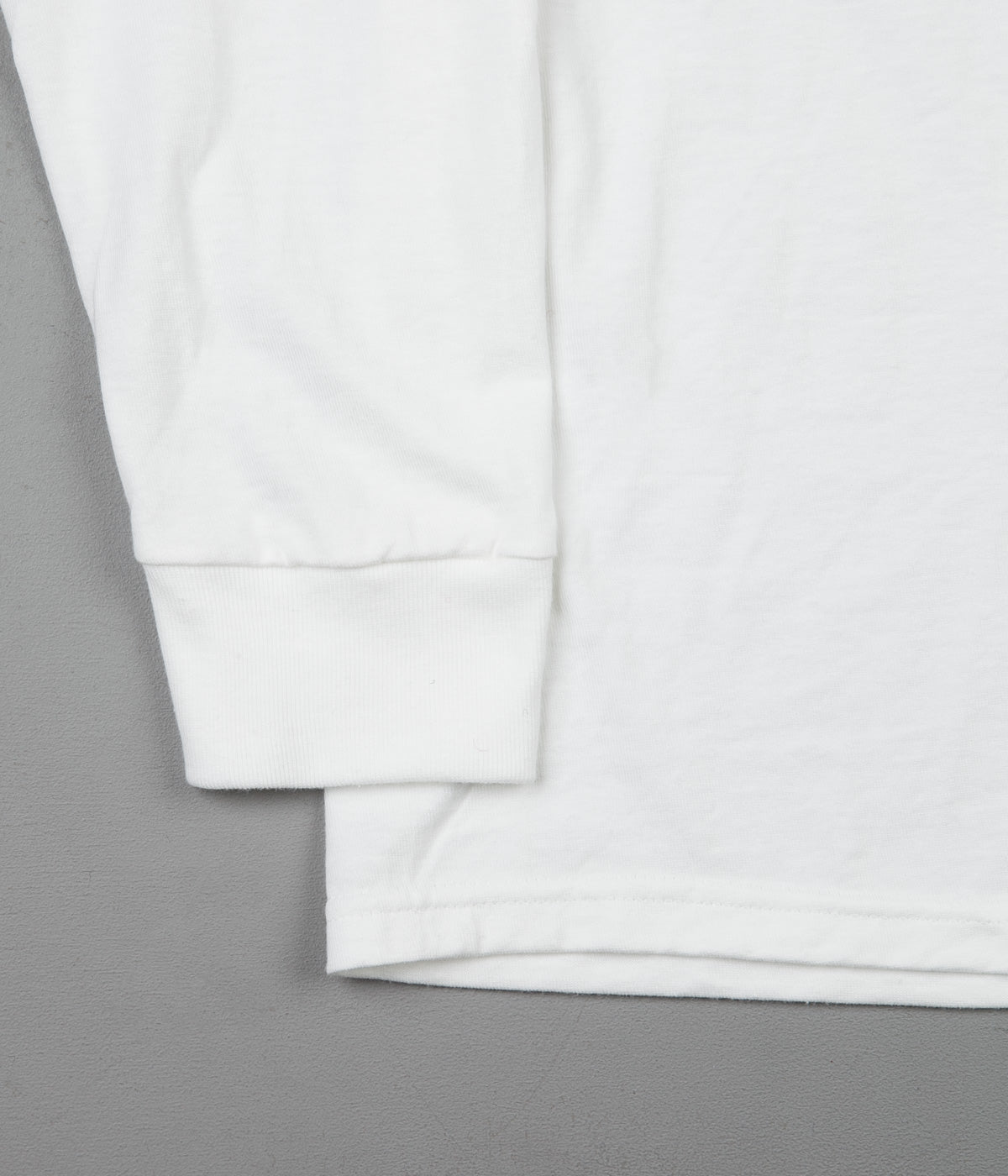 Stussy Stock Long Sleeve T-Shirt - White