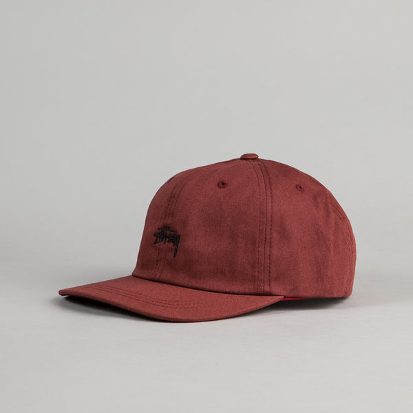 Stussy Stock Low Cap - Brick