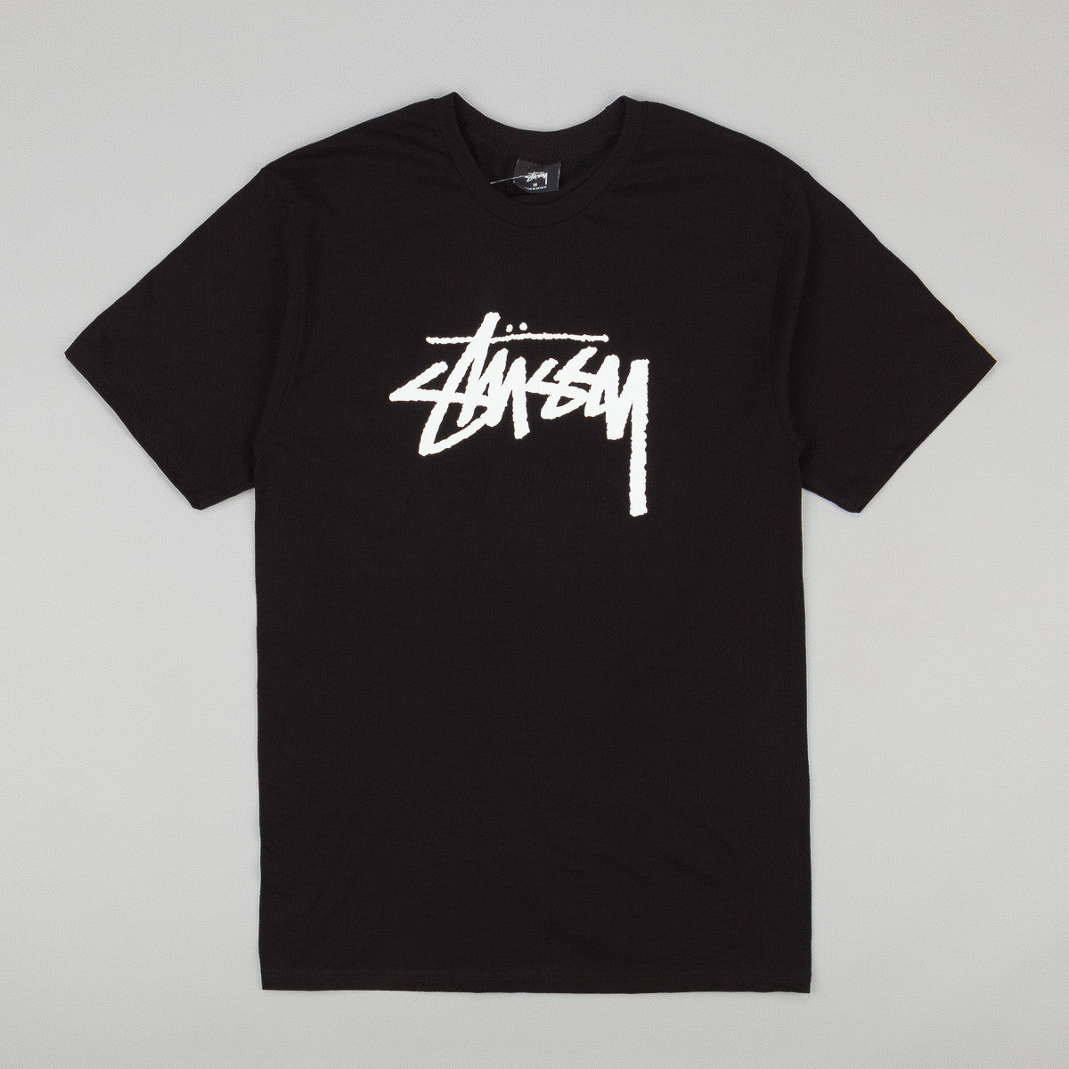 Stussy Stock T-Shirt - Black