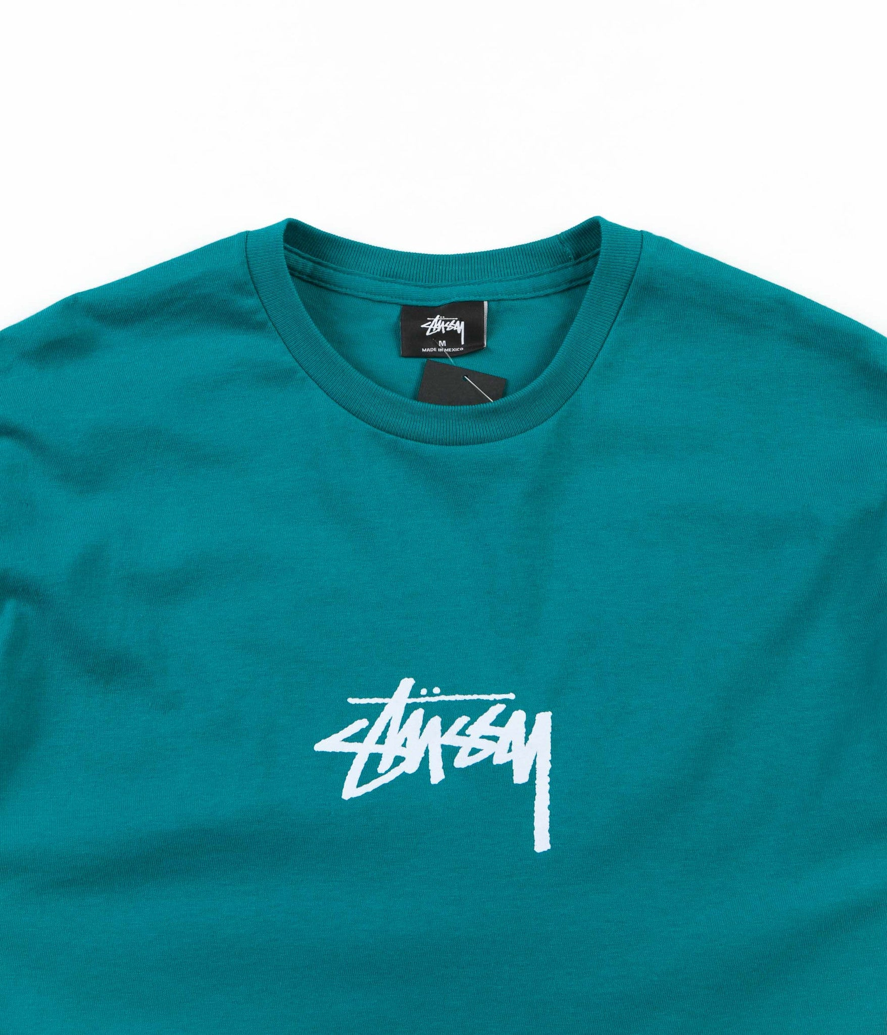 Stussy Stock T-Shirt - Dark Teal