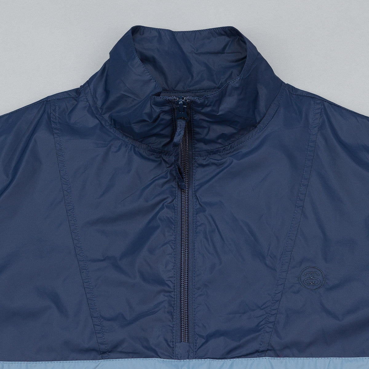 Stussy Strip Track Jacket - Navy