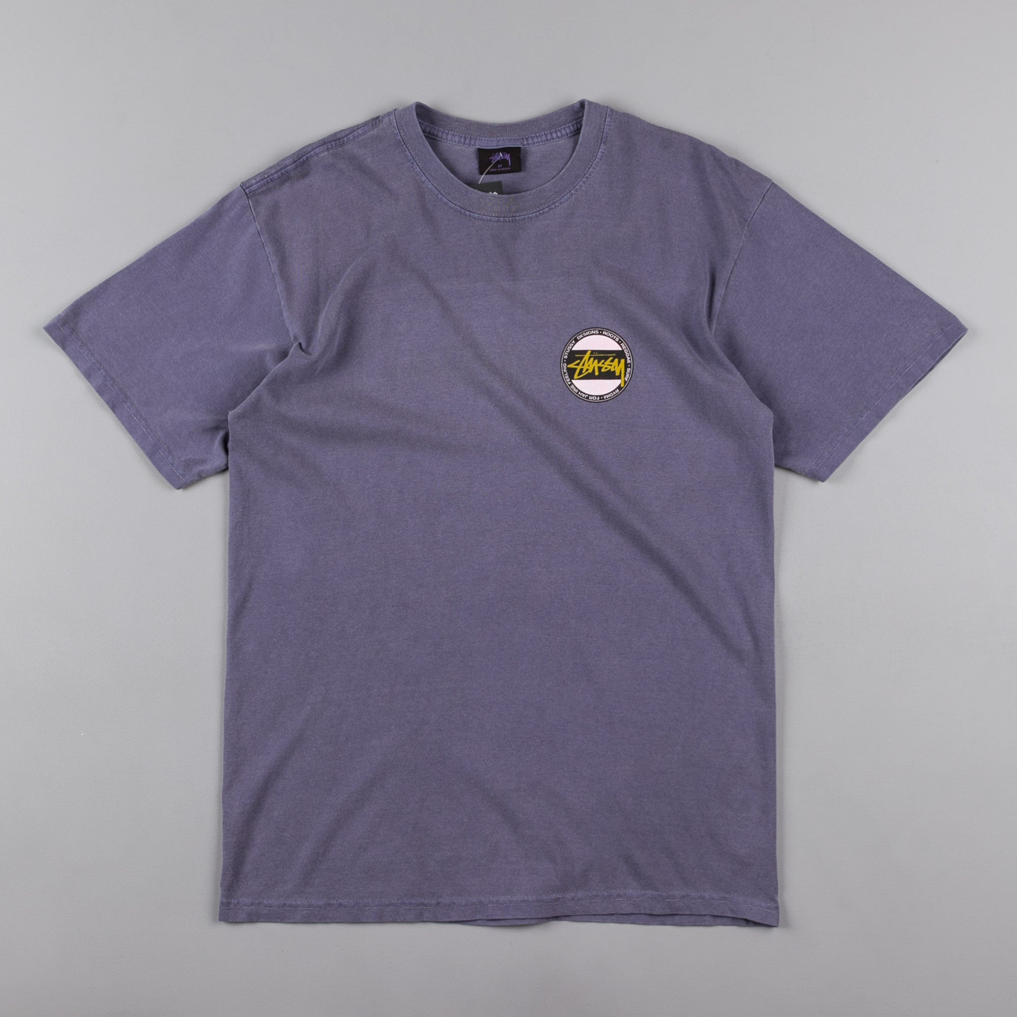 Stussy Surf Dot T-Shirt - Purple