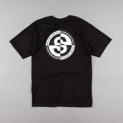 Stussy Flipped Up T-Shirt - Black