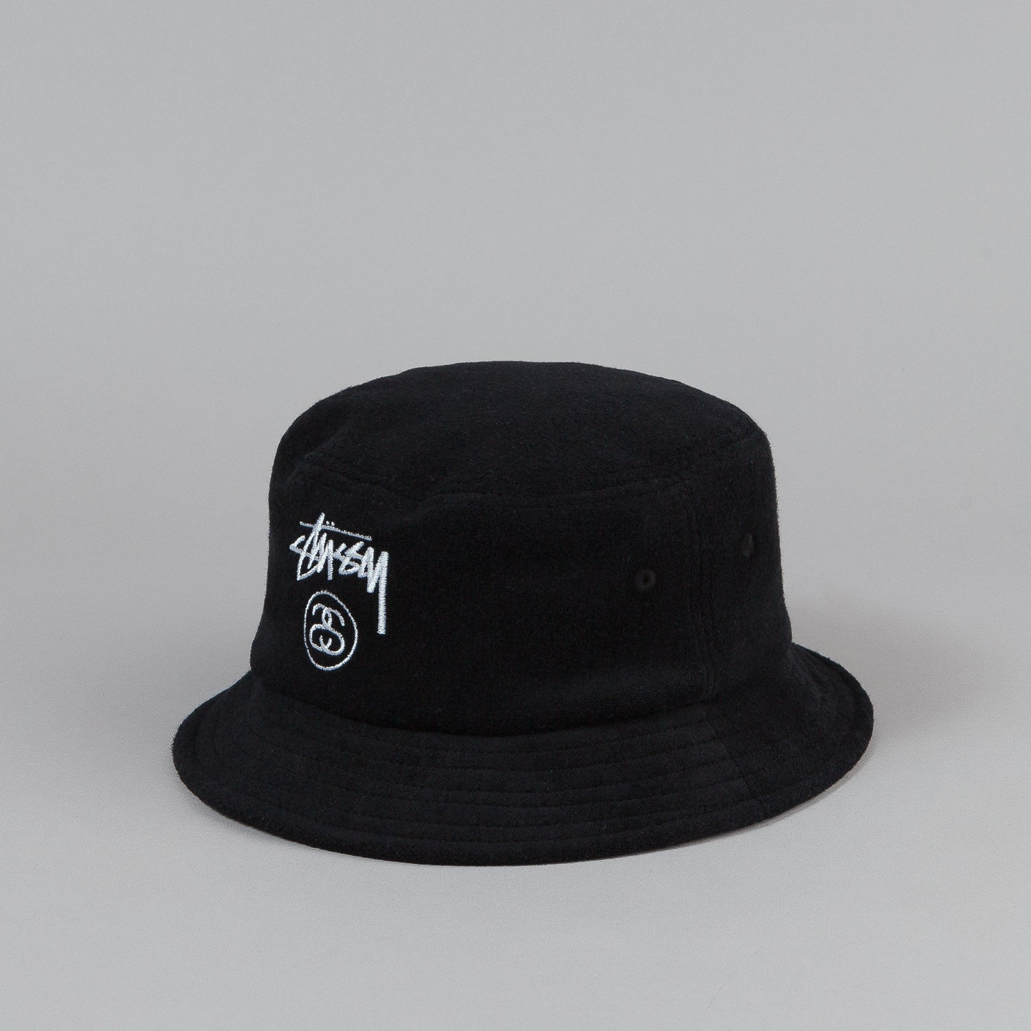 Stussy Terry Stock Lock Bucket Hat