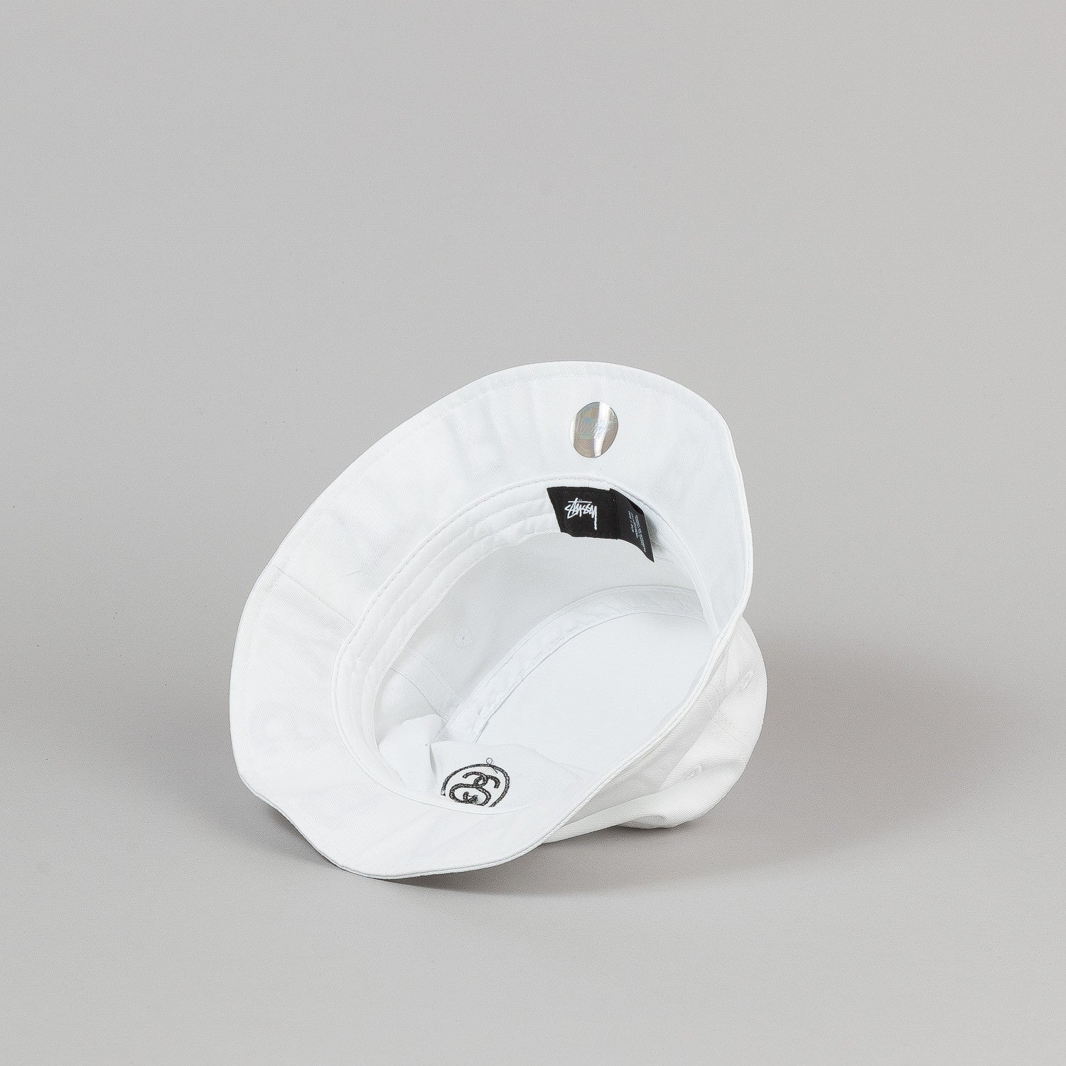 Stussy Tribe Brim Bucket Hat - White