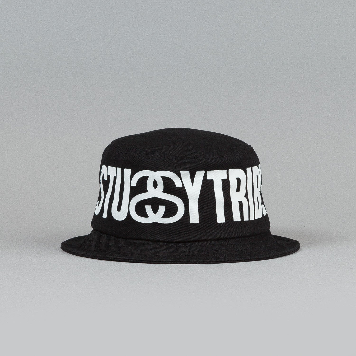 Stussy Tribe Bucket Hat Black