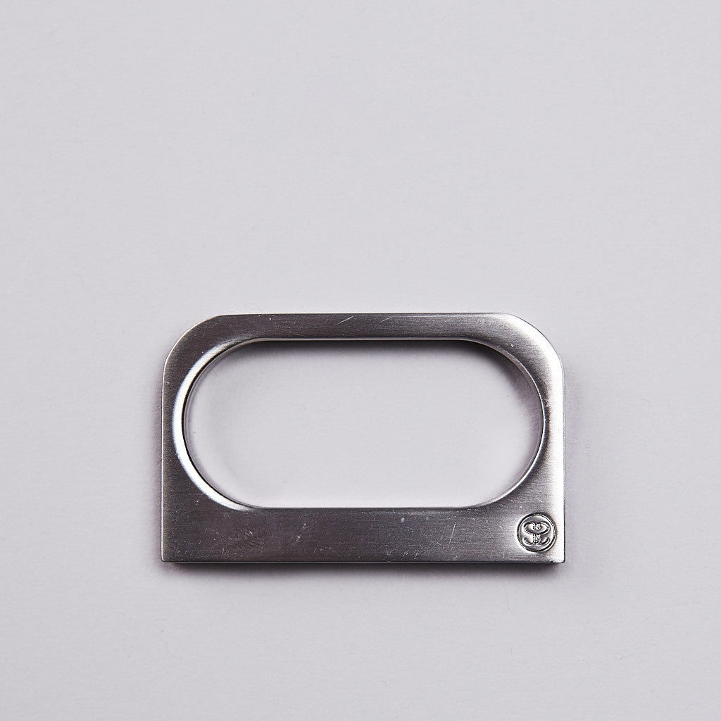 Stussy Two Finger Silver
