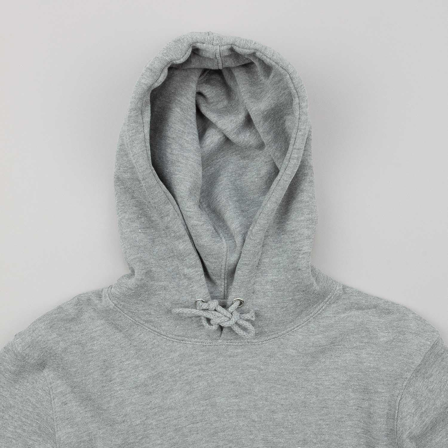 Stussy World Tour Hooded Sweatshirt Grey Heather