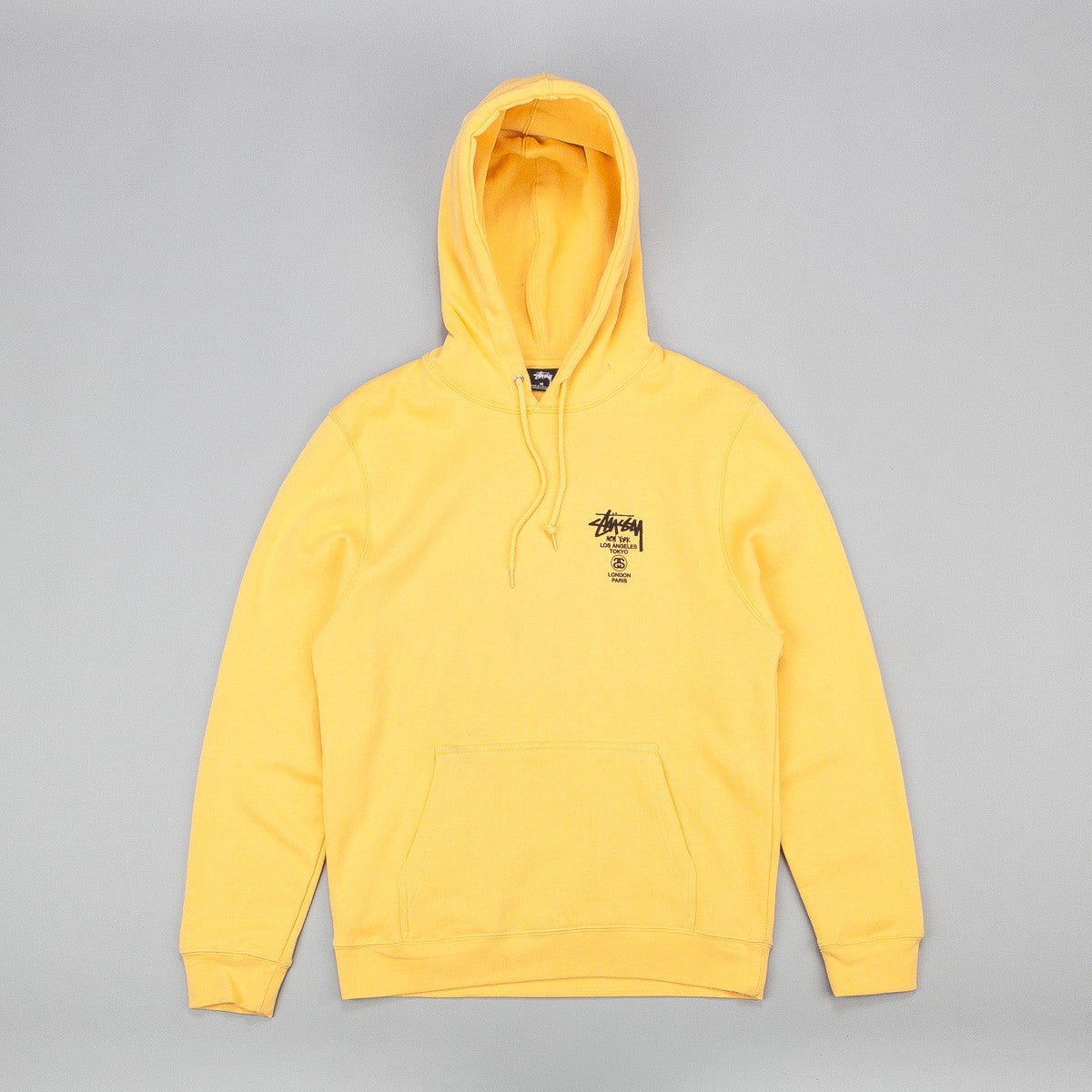Stussy World Tour Hooded Sweatshirt