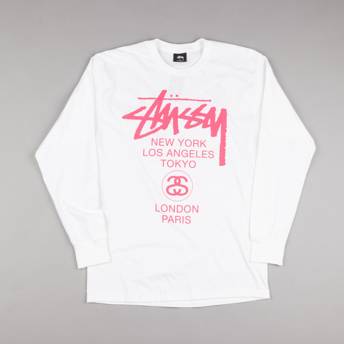 Stussy World Tour Long Sleeve T-Shirt